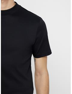 Mens Ace Smooth Jersey Tee Black