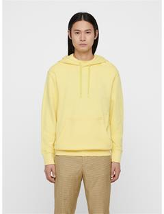 Mens Hurl Ring Loop Hoodie Butter Yellow