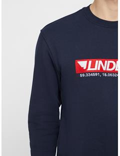Mens Hurl Ring Loop Sweatshirt JL Navy