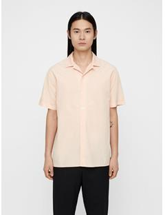 Mens David Resort Shirt Summer Beige