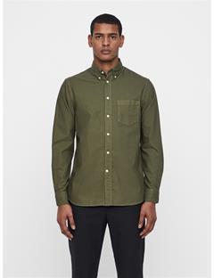 Mens David Oxford Shirt Ivy Green