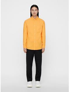 Mens David Oxford Shirt Warm Orange
