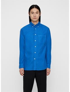 Mens David Oxford Shirt Work Blue