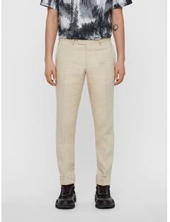 Mens Grant Tech Linen Pants WHITE PEPPER