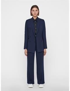 Womens Pearl Summer Wool Blazer JL Navy