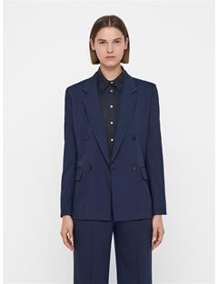 Womens Delano Summer Wool Blazer JL Navy