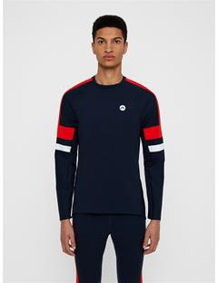 Mens Sonic Compression Top JL Navy