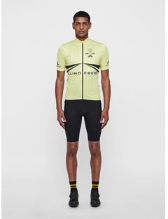 Mens Bike Branded Jersey Sharp Green