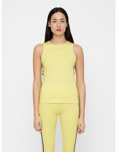 Womens Ella Jersey Top Butter Yellow