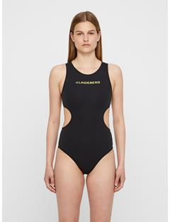 Womens Emie Compression Suit Black