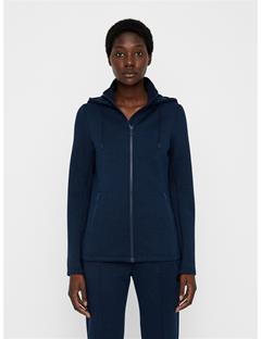 Womens Louna Tech Hoodie Navy melange