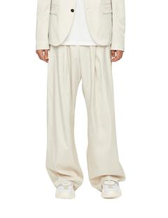 Mens Bootsy Drapy Nylon Pants Cloud Dancer