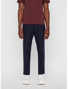 Mens Sasha Linen Pants JL Navy