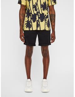 Mens Nathan Super Satin Shorts Black