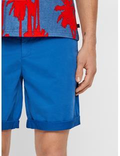 Mens Nathan Super Satin Shorts Work Blue