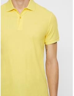 Mens Troy Pique Polo Butter Yellow