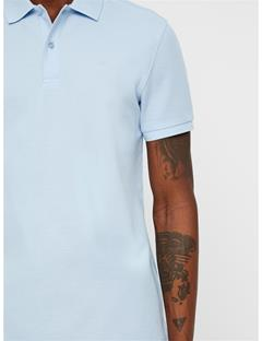 Mens Troy Pique Polo Ice Flow