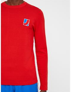 Mens Reno Sweater Deep Red