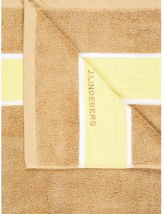 Mens Jess Beach Towel Butter Yellow