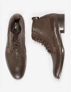 Mens Lace Boot Vintage Calf Dk Brown