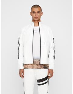 Mens Isaak Tyvek Track Jacket White