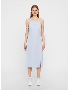 Womens Joni Liquid Satin Dress Ice Flow