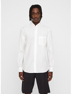 Mens David Seasonal Graphic Shirt White