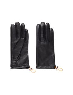 Womens JL Leather Gloves Black