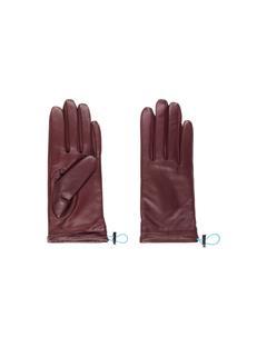 Womens JL Leather Gloves Dark Mocca