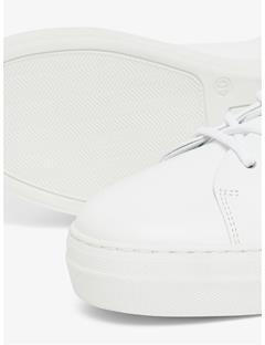 Womens Leather Sneakers White