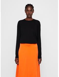 Womens Karla Merino Sweater Black