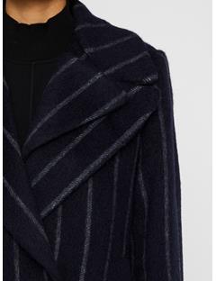 Womens Carmen Mohair Coat JL Navy