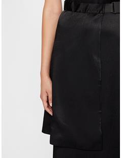 Womens Klara Plisse Dress Black