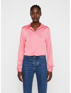 Womens Mallory Silk Shirt Hubba Bubba