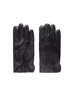 Mens Bono Leather Glove Black