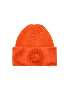 Mens Monti Wool-Cashmere Beanie Juicy Orange