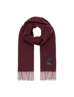 Mens Champ Wool Scarf Dark Mocca