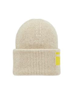 Mens Logo Beanie Oxford Tan