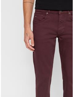 Mens Jay Solid Stretch Jeans Dark Mocca