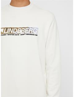 Mens Hurl Ring Loop Sweatshirt Cloud Dancer