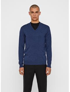 Mens Lymann Sweater Blue Mouline