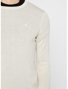 Mens Lyle Sweater Cloud Dancer