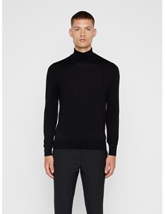 Mens Lyd Turtleneck Sweater Black