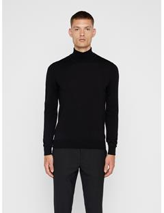 Mens Lyd Turtleneck Sweater Navy