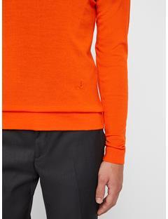 Mens Newman Sweater Juicy Orange