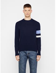 Mens Demyan Cashmere-Wool Sweater JL Navy