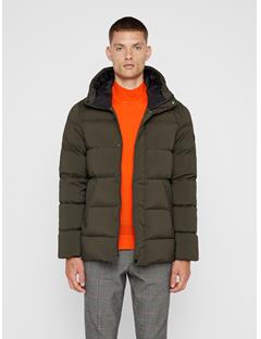 Mens Barry Down Jacket Forest Green