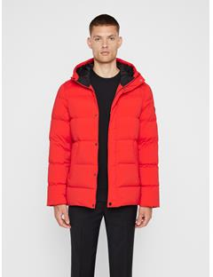 Mens Barry Down Jacket Racing Red