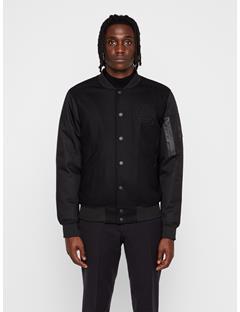 Mens Mesut Varsity Jacket Black