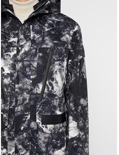 Mens Leroy Tech Jacket Glacier Grey